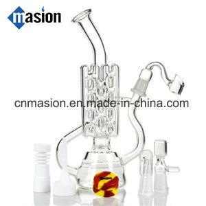 Perco Recycler Glass Water Pipe (EY003) pictures & photos