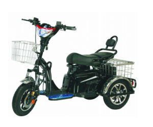 2017 Newest 48V 500W Handicapped Tricycle Motorcycle pictures & photos