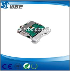 Manual Insert Hybird IC&RFID Card Reader/Writer pictures & photos