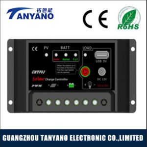 Automatic 20A Solar Charge Controller with DC and USB pictures & photos
