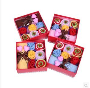 Wholesale Custom Door Gift Towel for Towel Sets Gift Box pictures & photos