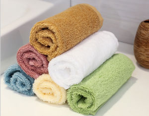 Wholesale Fashion Popular Cotton Baby Washcloth Towel pictures & photos