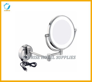 Wall Mounted Double Sides LED Cosmetic Mirror Shaving Mirror pictures & photos