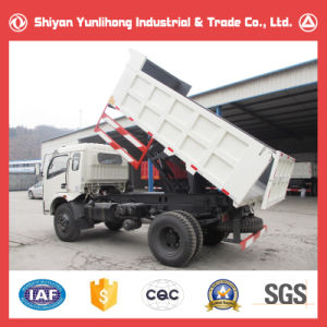 4X2 Rhd/LHD Light 10 Ton Self Loading Cargo Truck Lorry Tipper pictures & photos