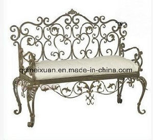 Wrought Iron Double Sofa Chair Lazy Sitting Room Sofa, Chair Cushion Restaurant Chair Recreational Chair The Imperial Concubine Sofa Chair (M-X3720) pictures & photos