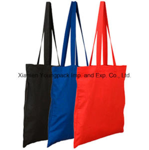 Promotional Imprinted Organic Cotton Canvas Reusable Grocery Tote Bag pictures & photos