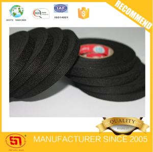 High Quality Adhesive Black Velvet Fleece Tape pictures & photos
