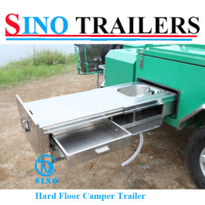Australian High Quality Rear Open Powder Coating Camper Trailer pictures & photos