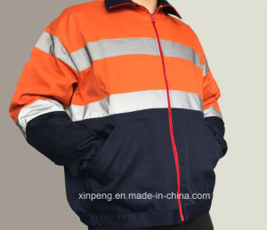 High Visibility Reflective Contruction Safety Jacket pictures & photos