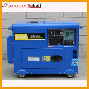 Air Cooled Portable Silent Diesel Generator pictures & photos