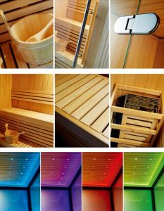 New Sauna Room for Two Persons (M-6030) pictures & photos
