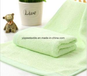 100% Natural Bamboo Face Towel pictures & photos