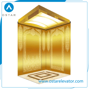 Luxurious Decoration Elevator Cabin Passenger Lift with ISO Certificate pictures & photos