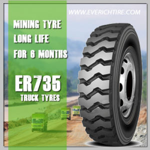10.00r20 Mining Tyre/ Dump Truck TBR Tire/ Chinese Heavy Duty Truck Radial Tire pictures & photos