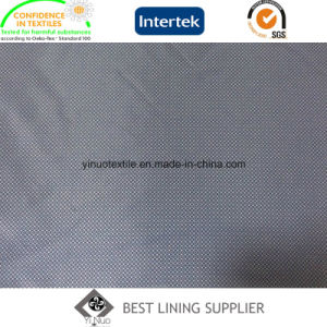 100 Polyester Men′s Suit Jacket Printed Lining Fabric Manufacturer pictures & photos