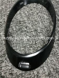 Bright Anodised Black Aluminium Extrusion Profile with Machining pictures & photos