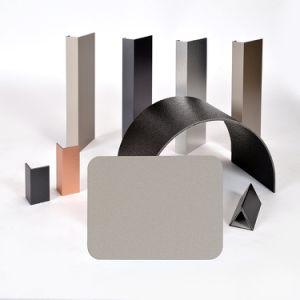 Aluis Interior 2mm Aluminium Composite Panel-0.06mm Aluminium Skin Thickness of Polyester Champagne Silver pictures & photos