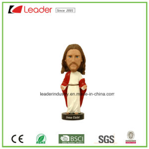 Polyresin Jesus Bobblehead Figurine for Table and Home Decoration pictures & photos