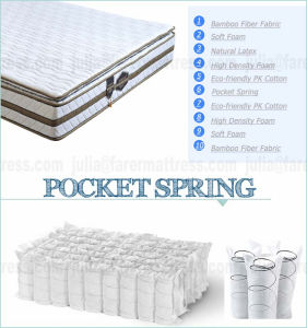 Can Be Customized Mattress with Pocket Spring pictures & photos
