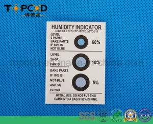 5%-60% Three Value Blue to Pink (HIC) Humidity Indicator Card pictures & photos