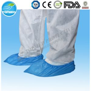 Nonwoven Medical Shoe Cover, SBPP Antidust Shoe Covers pictures & photos