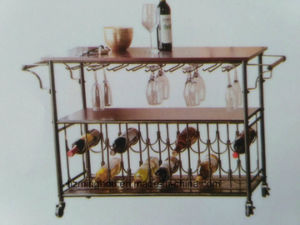 Kitchen Rack with Bottles Shelf for Home Display Stand Shelf pictures & photos