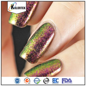 Color Changing Flakes Nail Polish Pigment pictures & photos