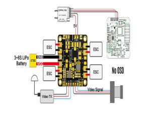 Mini Power Hub Power Distribution Board Pdb Bec 5V & 12V pictures & photos