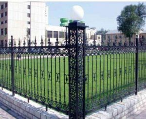 Zinc Tubular Steel Fence/Steel Tube Fence Panels/Fence Panels Square Tube pictures & photos