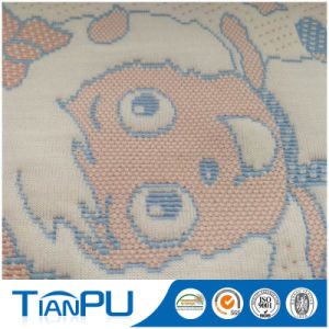 Cartoon Design 100% Poly Knit Jacquard Fabric for Baby Mattress pictures & photos