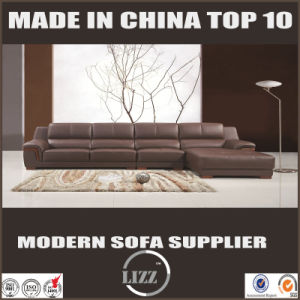 2017 Living Room Furniture Sectional Sofa with Coffee Color pictures & photos
