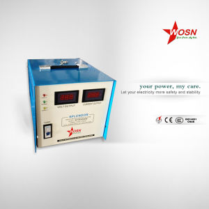 SVC 10000va Single Motor Type Automatic Universal Voltage Regulator pictures & photos
