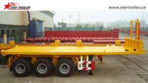 20FT 40FT Dump Flatbed Semi Trailer/ Tipper Trailer pictures & photos