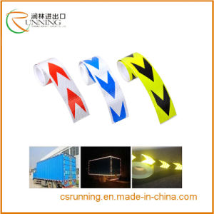 High Intensity Grade Red&White/Red Arrow Truck Reflective Tape pictures & photos