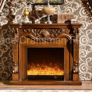 Antique Home Furniture Heating and Lighting Electrical Fireplace (331) pictures & photos