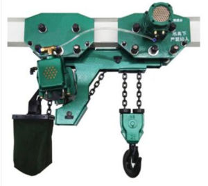 Ultra-Low Monorail Pneumatic Engine Hoist for Heavy-Duty Industrial Use pictures & photos