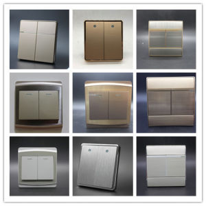 Ce CCC SGS 2 Gang Electrical Wall Switch pictures & photos