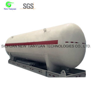 Liquefied Natural Gas LNG Cryogenic Tank Container with 30.4m3 Volume pictures & photos