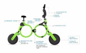 New Design Small E Mini Folding Bike pictures & photos