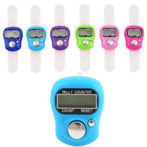 Stitch Marker Row Finger Counter LCD Electronic Digital Tally Counter pictures & photos