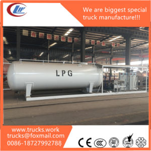 10000liters 3500us Gallons Mobile LPG Filling Station for Sale pictures & photos