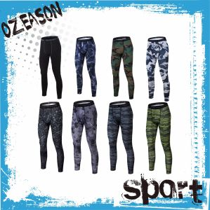 OEM Custom Wholesale Cheap Sublimation Printing Mens Yoga Pants (YP-03) pictures & photos