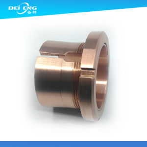 CNC Lathe Machining Oil Free Bushings Bronze Shouldered pictures & photos
