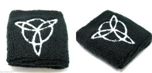 Promotional Black Sports Athletic Sweatbands and Handbands pictures & photos