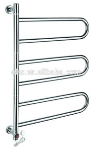 Custom 304 Stainless Steel Electric Heated Towel Rail pictures & photos