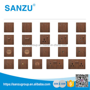 High Quality Fan Speed Dimmer Wood Socket pictures & photos