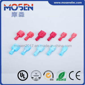 Fdfna Nylon PA66 Fully Insulated Female Male Quick Disconnector Terminal Flared Type pictures & photos