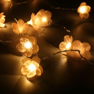 Bedroom Decoration Plum Blossom Fairy String Lights LED Lights Battery Operated pictures & photos
