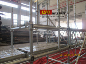 Instant Scaffold Construction Concrete Forming Modular Cuplock Scaffolding pictures & photos
