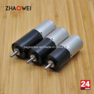 24mm Low Noise 12V Small Brushless DC Planetary Gear Motor pictures & photos